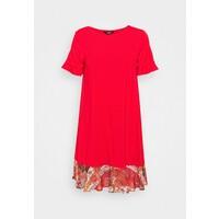 Desigual Sukienka z dżerseju red DE121C0TW