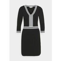 Morgan Sukienka etui noir/off white M5921C0U6
