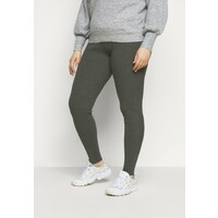 Even&Odd Curvy Legginsy mottled dark grey EVB21A010