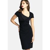 HotSquash Sukienka etui black HOW21C020
