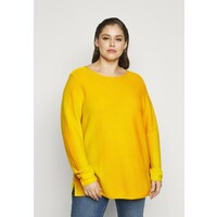 MY TRUE ME TOM TAILOR STRUCTURED Sweter california sand yellow TOL21I00U