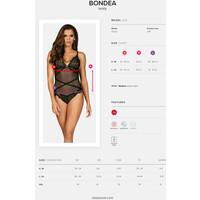 Obsessive Prześwitujące body Bondea