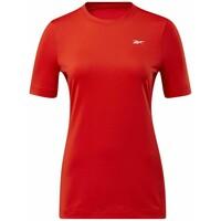 Reebok WORKOUT READY SUPREMIUM TEE T-shirt z nadrukiem red RE541D193