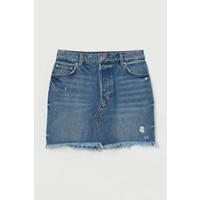 H&M Spódnica dżinsowa 0777099001 Niebieski denim