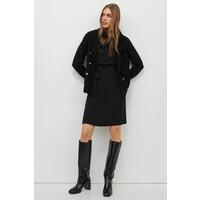 H&M Sukienka w łódeczkę 0954832001 Czarny