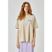 PULL&BEAR T-shirt z nadrukiem beige PUC21D1CC