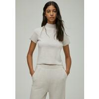 PULL&BEAR T-shirt basic beige PUC21D1E1