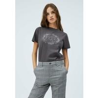 Pepe Jeans DORIS T-shirt z nadrukiem deep grey PE121D0LF