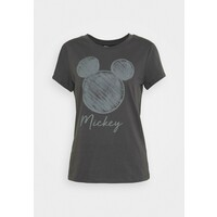 ONLY ONLMICKEY NEW FACE T-shirt z nadrukiem dark grey ON321D285