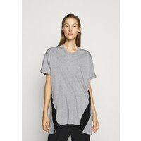 N°21 T-shirt z nadrukiem melange grey N3121D00U
