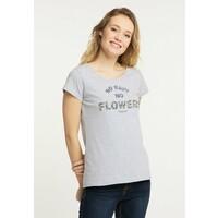 Schmuddelwedda T-shirt z nadrukiem mottled light grey WD221D00M