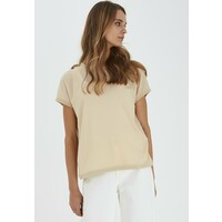 b.young BYPANYA T-shirt z nadrukiem beige BY221D05Q