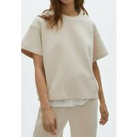 Massimo Dutti T-shirt basic beige M3I21D0A1