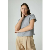EDITED SELENA T-shirt basic grey EDD21D02T