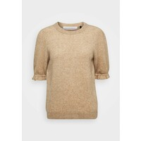 Pieszak LAUREN PUFFY T-shirt z nadrukiem beige PIH21I003