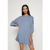 Weekday HUGE T-shirt basic blue grey WEB21C006
