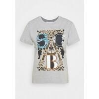See by Chloé T-shirt z nadrukiem drizzle grey SE321D01Z