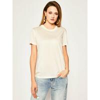 Calvin Klein T-Shirt Ss Logo Tee K20K201723 Beżowy Regular Fit