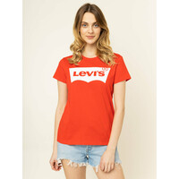 Levi's® T-Shirt The Perfect Graphic Tee 17369-0792 Czerwony Regular Fit