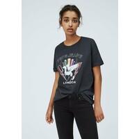 Pepe Jeans FELISA T-shirt z nadrukiem deep grey PE121D0L9