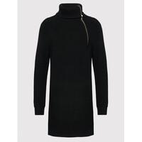 Liu Jo Sukienka dzianinowa WF1423 MA51I Czarny Regular Fit