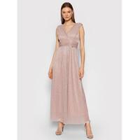 Rinascimento Sukienka wieczorowa CFC0104690003 Różowy Slim Fit