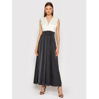 Rinascimento Sukienka wieczorowa CFC0104694003 Czarny Regular Fit