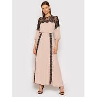 Rinascimento Sukienka wieczorowa CFC0104845003 Różowy Regular Fit