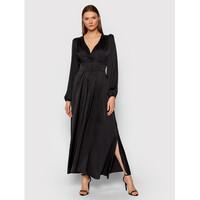 Rinascimento Sukienka wieczorowa CFC0105072003 Czarny Slim Fit