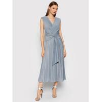 Rinascimento Sukienka wieczorowa CFC0105077003 Niebieski Slim Fit