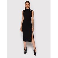 Rinascimento Sukienka koktajlowa CFC0018011002 Czarny Slim Fit