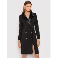 Rinascimento Sukienka koktajlowa CFC0018042002 Czarny Slim Fit