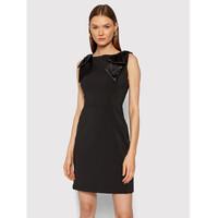 Rinascimento Sukienka koktajlowa CFC0104533003 Czarny Slim Fit