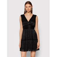 Rinascimento Sukienka koktajlowa CFC0104682003 Czarny Regular Fit