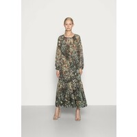 Esprit Collection Długa sukienka dark khaki ES421C1GT