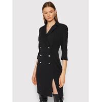 Rinascimento Sukienka koktajlowa CFC0105023003 Czarny Regular Fit