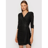 Rinascimento Sukienka koktajlowa CFC0105082003 Czarny Slim Fit
