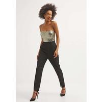 Miss Parisienne Kombinezon black/gold MJ021A003