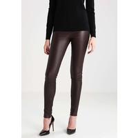 SET Spodnie skórzane black S1721A01B
