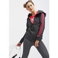 adidas Performance PRIME Bluza rozpinana blackray red