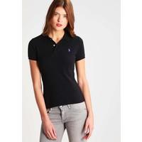 Polo Ralph Lauren SKINNY FIT Koszulka polo polo black PO221D00A