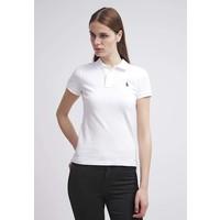 Polo Ralph Lauren SKINNY FIT Koszulka polo white PO221D00A