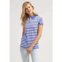 Polo Ralph Lauren BOYFRIEND Koszulka polo indigo sky/white PO221D017
