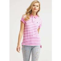 Polo Ralph Lauren BOYFRIEND Koszulka polo maui pink/white PO221D017