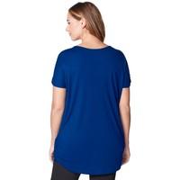 Tchibo Długa koszulka z marszczeniem 400113657
