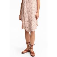 H&M Zamszowe sandały 0528958001 Rdzawy