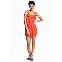 H&M Kombinezon 0491692004 Pomarańczowy