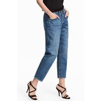 H&M Zamszowe sandały 0512430001 Czarny