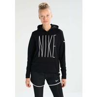 Nike Performance Bluza z kapturem blackwhite N1241G00G