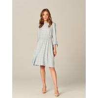 Mohito Pastelowa sukienka w kratę UF256-05X